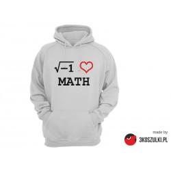 I love math - bluza z kapturem