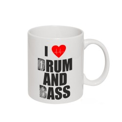 Drum and Bass - kubek