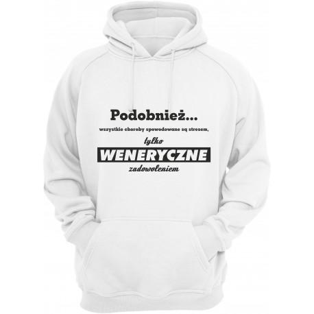 Choroby weneryczne - bluza z kapturem