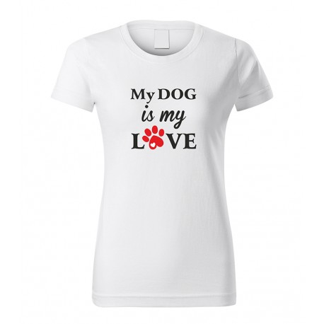 My dog is my love