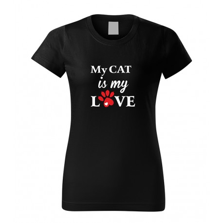 My cat is my love